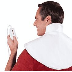 Bob's - Neck Wrap Heating Pad - Doctor Designed for Therapeutic Heat Relief and Arthritis. Shoulder Pain Relief, Neck And Shoulder Pain, Neck Pain, Best Heating Pad, Heating Pads, Shoulder Heating Pad, Moist Heat, Dry Heat, Shape Of Your Body