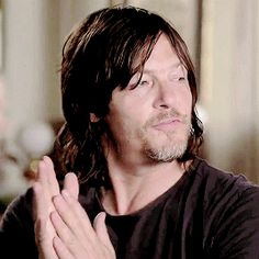 Norman Reedus gif...how can anyone be so damn sexy and adorable?! ♥️