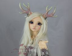 https://flic.kr/p/q9VpL1 | Faun Girl | I'm debating between the names Ai and Indigo for her.  I just can't decide, but I absolutely adore her. .<