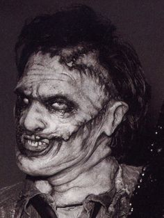 Leatherface from THE TEXAS CHAINSAW MASSACRE series of films.