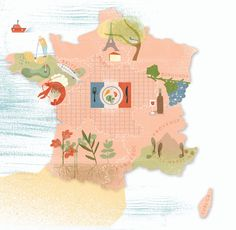 Maggie Li - Map of France