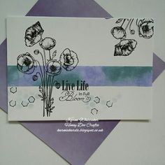 Poppies stamp set available from Honey Doo Crafts Honey Doo Crafts, Poppy Cards, Distress Oxides, Stamp Sets, Handmade Cards, Poppies, Stamping, Card Ideas, Birthday Cards