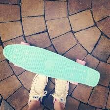 Cotton candy penny board!