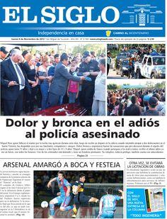 Diario El Siglo - Jueves 8 de Noviembre de 20 12