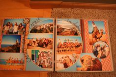 Morocco, camel ride, two page layout