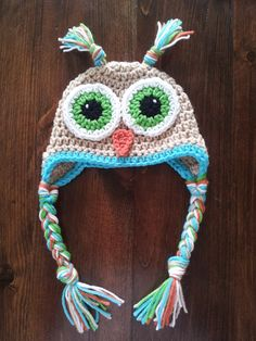 Light Brown Cartoon Owl