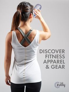Discover Stylish Fitness Apparel & Gear at prices up to 70% Off! Everything you need to feel and look your best while working out!