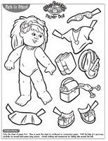 Blog with lots of different paper doll resources