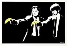 Banksy, Pulp Fiction estimated at $10,000-$12,000