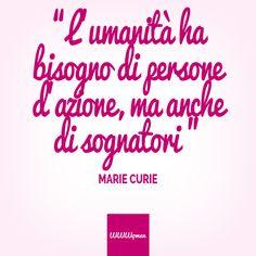 C'è sempre bisogno di persone che sognano! #quote