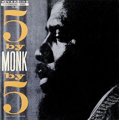 Paul Bacon, 5 by 5, Thelonious Monk, 1959