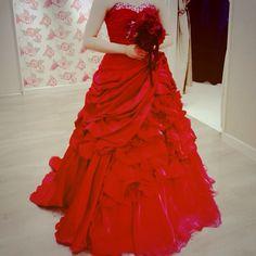 red dress♡