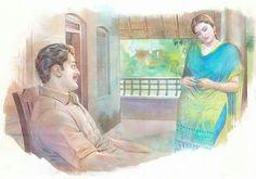 Indian Women Painting, Indian Art Paintings, Old Paintings, Sexy Painting, Woman Painting, Indian Drawing, Cartoon Girl Drawing, Female Art, Watercolor Paintings