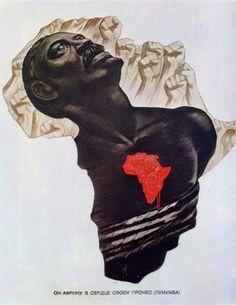 Ele levou a África no coração, Lumumba, Koretsky, URSS.