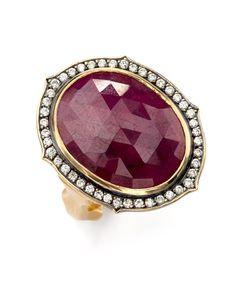 Sylva & Cie - Ruby Portrait. Just a magnificent ring!