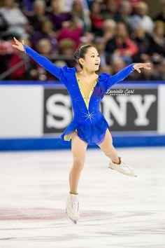 Satoko Miyahara (JPN) - 2014 Skate Canada LP © Danielle Earl