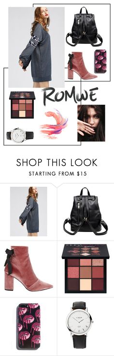 """""""💄"""" by elenazv ❤ liked on Polyvore featuring Robert Clergerie, Huda Beauty and Links of London"""
