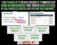 An income exploding, life-changing traffic formula. Just click on the image.