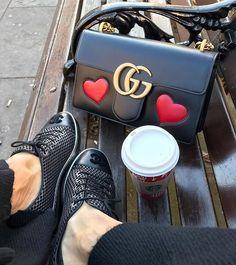 Gucci GG Marmont Leather Shoulder Bag 431777   $329