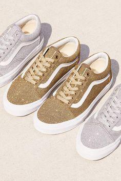 86fa00e5c8137a Vans Old Skool Lux Glitter Sneaker