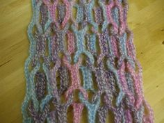TENTACLE SCARF ~ crochet pattern available