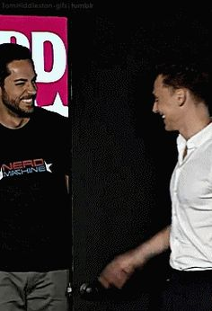 more hug Tom and Levi! ... love it, haha ... so lovely  ;D   .gif