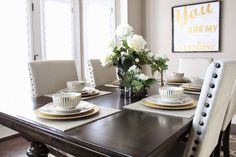 @brookeandjanejd's home tour gets some sparkle with our Luna Dinnerware