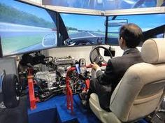 [3] Virtual simulator is a equipment made with virtual reality technology. using virtual simulator people can learn how to drive vehicles safely. this is very useful for beginners.