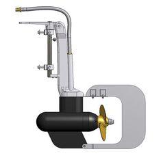 Außenbord-Elektromotor - GPE 1.6  - Kräutler Elektromaschinen