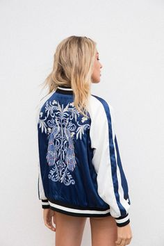 Reversible Empress Bomber - Women's Clothing & Fashion Online – Style Addict