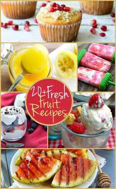 20+ Fresh Fruit Recipes {The Weekly Round UP} - This Silly Girl's Life
