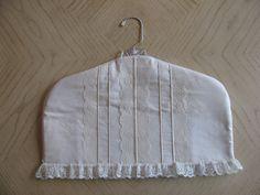 Vintage covered hanger by SewOriginalToYou on Etsy, $20.00