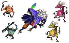 Ko-Oni, Karasutengu, & Gaki - Muramasa: The Demon Blade