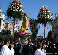 Celebraciones de San Nicolás en mayo en Bari, Italia