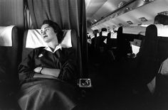 LIFE Goes to Stewardess School, 1958   LIFE.com Now that's a jump seat!