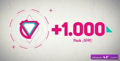 Basic Shape Animation Pack +1000 - After Effects Project (Videohive)