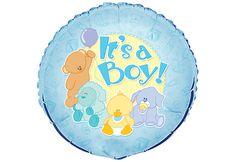 """MYLAR 18"""" 'IT'S A BOY'"""
