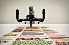 Q&A with Darling Jill Quilts: Starting a Longarm Quilting Business Long Arm Quilting Machine, Machine Quilting Patterns, Longarm Quilting, Free Motion Quilting, Quilt Patterns, Beginner Quilting, Hand Quilting, Machine Embroidery, Handi Quilter