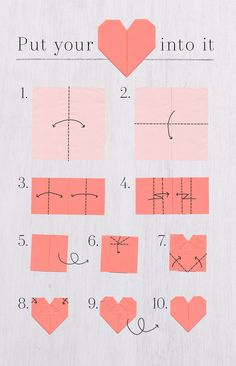 How-to: Valentine's Day origami card