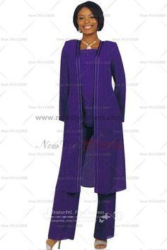 Elastic pants Elegant Cheap Garments 3 Sets Mother Of The Bride Garments nmo-121