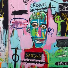 "New Yorker Basquiat's ""In Italian."" 1983."