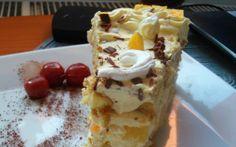 Retete Culinare - Tort cu fructe si mascarpone