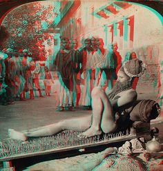 Fakir on Bed of Spikes anaglyph3D by depthandtime, via Flickr