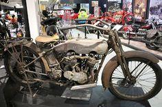 OldMotoDude: 1916 Harley-Davidson Twin on display at the San Di...