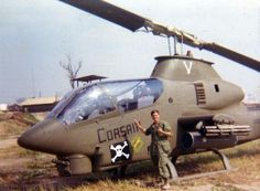 Cobra Corsair attack helicopter ~ Vietnam War