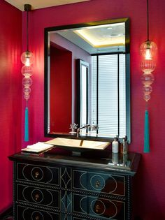 Taj Hotel Business Bay Dubai, United Arab Emirates. #hotel #restroom #asian #design #light