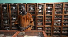 library timbuktu images   Timbuktu Hopes Ancient Texts Spark a Revival - New York Times