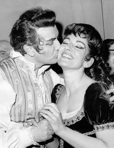 Franco Corelli and Maria Callas