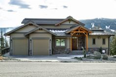 Ski Ridge Timber Frame Design – Streamline Design Wrap Around Deck, Open Concept Kitchen, Home Builders, Great Rooms, Skiing, Cabin, Mansions, House Styles, Frame