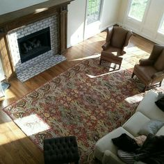 Interior Design And Remodel Of This Beautiful Fireplace In Zionsville,  Indiana. #CreatingSpaces #